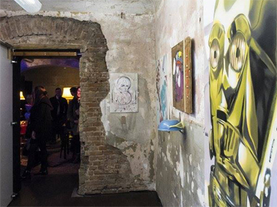 Urban Pop Up Art Gallery
